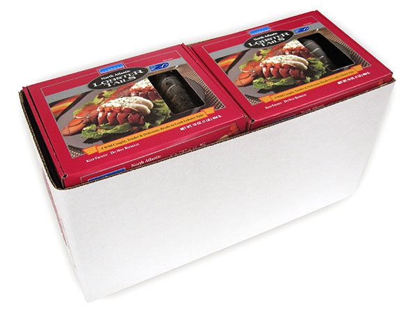 Lobster Tail Tray 1 LB