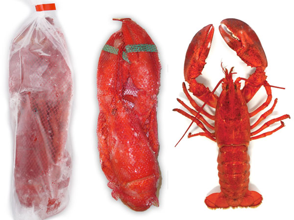 Whole Cooked Lobster Retail